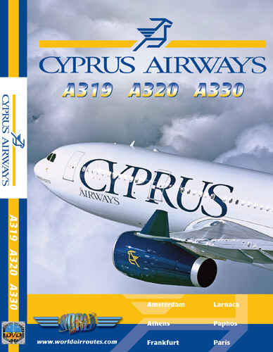 Just Planes DVD - Cyprus Airways