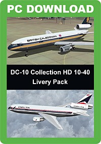 DC-10 Collection HD 10-40 Livery Pack (FSX/FSX:SE/P3D)