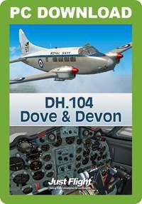 DH.104 Dove & Devon (FSX/FSX:SE/P3D)