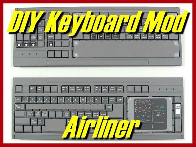 DIY Keyboard Mod: Airliner