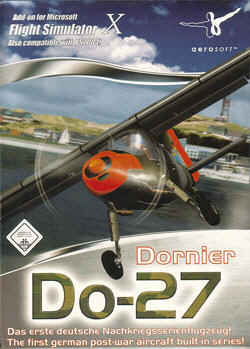 Digital Aviation Dornier Do-27 X