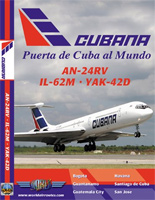 Just Planes DVD - Cubana IL-62M / AN-24RV / YAK-42D