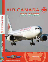 Just Planes DVD - Air Canada 767-300