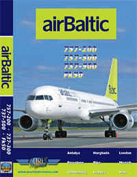 Just Planes DVD - Air Baltic