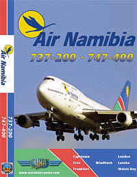 Just Planes DVD - Air Namibia