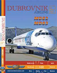 Just Planes DVD - Dubrovnik Airlines