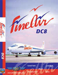 Just Planes DVD - FineAir DC-8