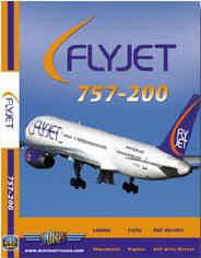 Justplanes DVD - FlyJet 757-200
