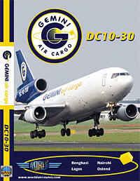 Just Planes DVD - Gemini DC-10 Cargo