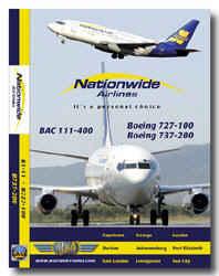 Just Planes DVD - Nationwide Bac111 & B727