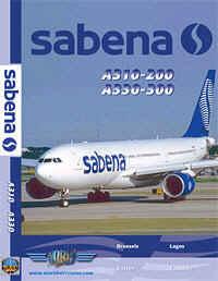 Just Planes DVD - Sabena A310 & A330