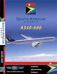 Just Planes DVD - South African A340-600
