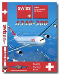 Just Planes DVD - Swiss A340