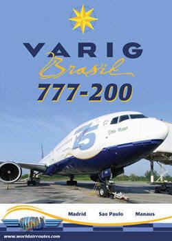 Just Planes DVD - Varig Brasil 777