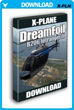 DreamFoil Bell 206 Jetranger III For X-Plane
