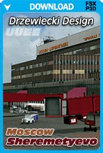 Moscow Sheremetyevo X Airport (UUEE) for FSX+P3D
