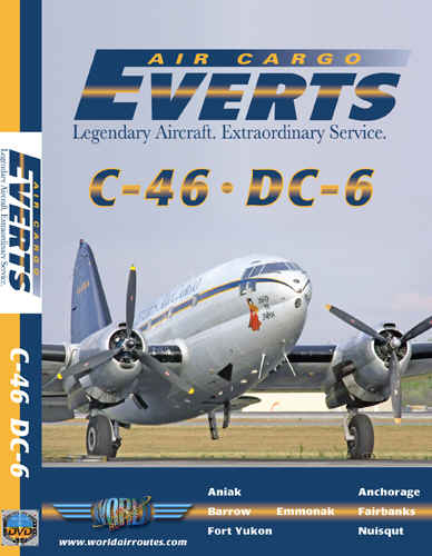 Just Planes DVD - Everts Air Cargo - C-46 & DC-6