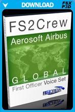 FS2Crew: Aerosoft Airbus Series Global First Officer Voice Set