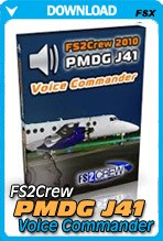 FS2Crew: PMDG J41 Voice Commander Edition