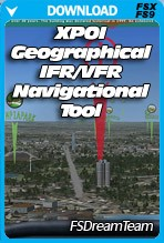 XPOI Geographical VFR/IFR tool for FSX