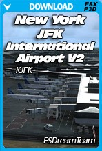 New York JFK International Airport V2 (KJFK) for FSX/P3D