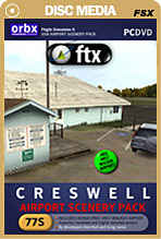 FTX Creswell Airport (77S) with Bonus Walker Field (OR57)