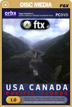 FTX USA Canada - Pacific Fjords DVD