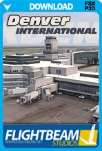 FlightBeam Denver International Airport - KDEN (FSX+P3D)