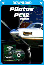 Pilatus PC12 - Boise To Sun Valley (Video)