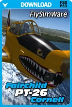 FlySimWare Fairchild PT-26 Cornell (FSX/FSX:SE/P3Dv1-v4)