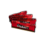 DDR3-1600 16GB Quad Channel [RipjawsZ] F3-12800CL9Q-16GBZL