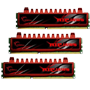 DDR3-1600 12GB Tri Channel [Ripjaws] F3-12800CL9T-12GBRL