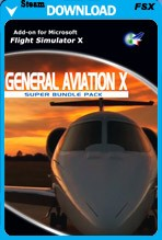 General Aviation X Super Bundle Pack (FSX/FSX:SE)