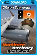 The Northern Territory of Australia Enroute Photoreal (FSX/FSX:SE/P3Dv1-v4)