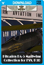 Pitcairn PA-5 Mailwing and Sport Mailwing Collection (FSX+P3D)