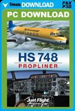 HS-748 Propliner (FSX/FSX:SE/P3Dv1-v4)