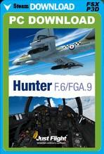Hunter F.6 / FGA.9 (FSX/FSX:SE/P3Dv1-v4)