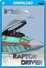 IRIS - Airforce Series - Raptor Driver [FSX]