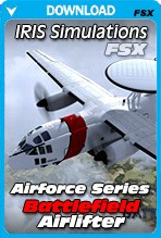 IRIS - Airforce Series - Battlefield Airlifter (FSX)