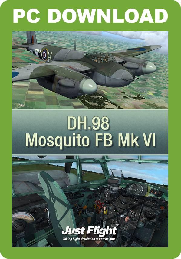 DH.98 Mosquito FB Mk VI (FSX/FSX:SE/P3D)