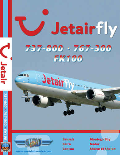 Just Planes DVD - Jetairfly