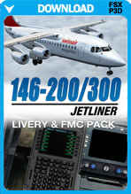 146-200 Jetliner Livery & FMC Expansion Pack