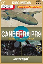 Canberra PR9 Boxed Edition (FSX/P3D)