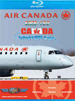 Just Planes BluRay - Air Canada EMB-190 Winter Ops