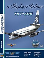 Just Planes DVD - Alaska Airlines 737-200