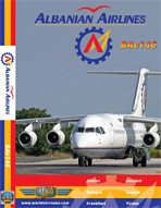 Just Planes DVD - Albanian Airlines BAe146