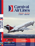 Just Planes DVD - Carnival Air Lines 727-200