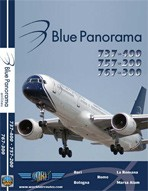 Just Planes DVD - Blue Panorama 737/757/767