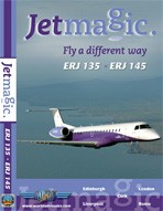 Just Planes DVD - JetMagic ERJ135 ERJ145