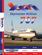 Just Planes DVD - Skymaster Airlines 707